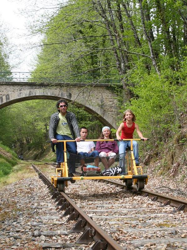 Velo rail Busssière Galant